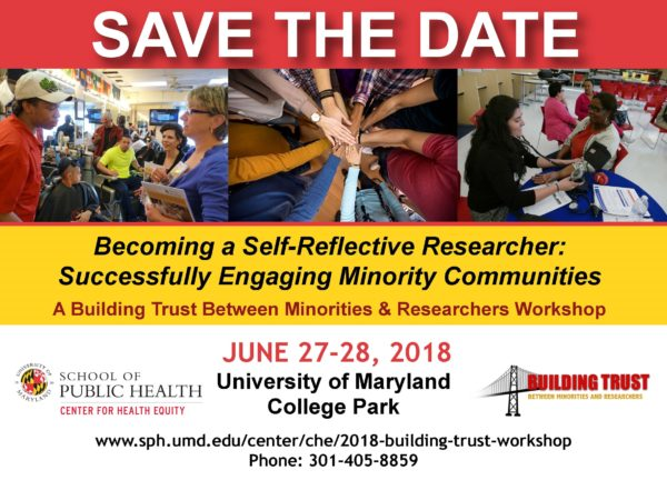 Maryland Building Trust Workshop