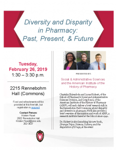 Pharmacy Diversity Disparity talk