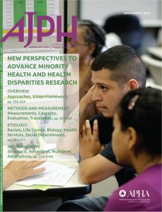 AJPH special issue cover