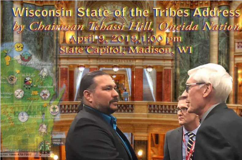 2019 Oneida State of the Tribes address screenshot