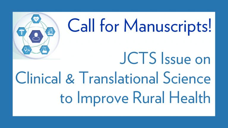 JCTS manuscript call